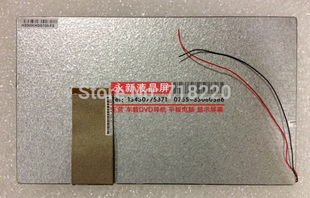 Free shipping 9inch 60pin LCD HSD090IDW1-A00 for Tablet Display screen,cable 721H410A47-A0 E203460 ,800*480<br><br>Aliexpress