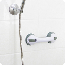 Super Practical Grip Suction restroom Bathroom accessories Shower Fridge Grab Support Bar Handle Rail Bonings on suckers(China)