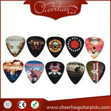 With DHL free shipping Can print yourself names and logo personalized customized guitar pick plectrum