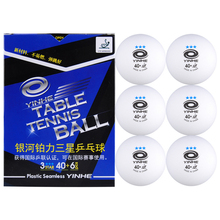 Table-Tennis-Balls Ping-Pong-Balls 3-Star YINHE Ittf-Approved Galaxy Seamless Plastic