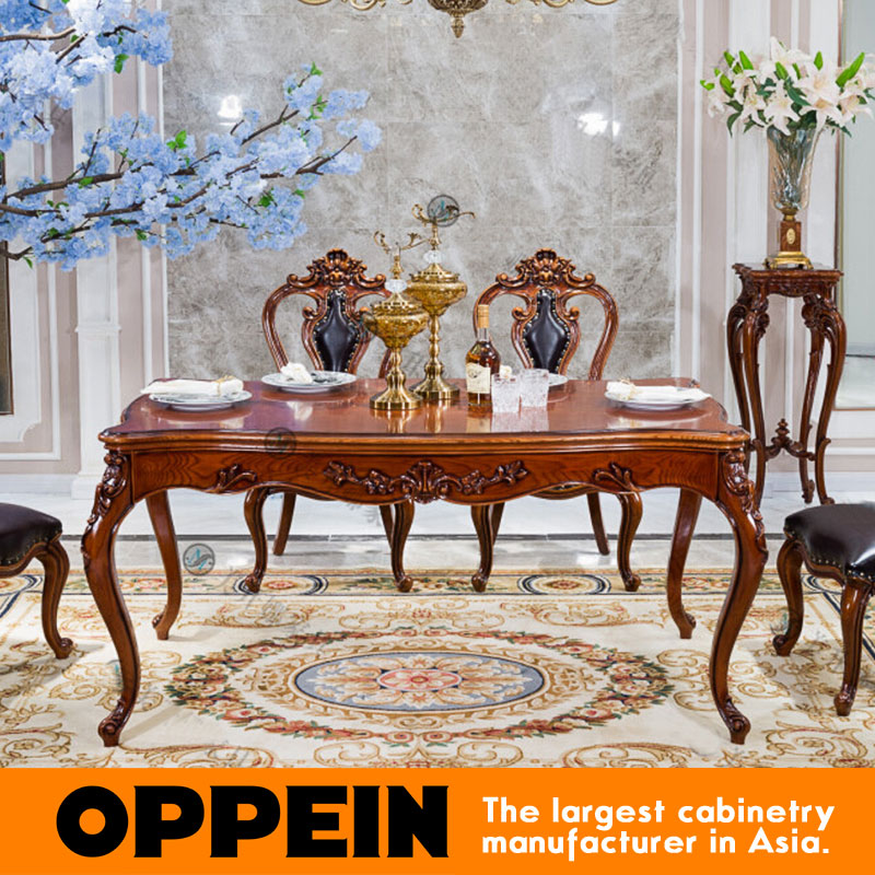 European Style Economic Wooden Dining Table OT 0314105China Mainland