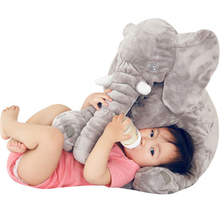 60cm Big Soft Elephant Plush Calm Dolls Toy Stuffed Animal Elephant Pillow For Kids Baby Sleeping Toys Home Decor