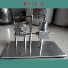 Cool !Miniature Stirling engine 'Whirly' Stirling engine engine generator model hobby Educational Toy Kits