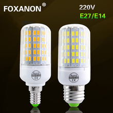 Lampada E27 E14 Corn Led Bulb 5730 LED Light 220V CFL 7W 11W 12W 15W 18W 20W Have CE ROHS lamp 24 36 48 56 69 72Leds Lighting(China)