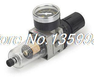 MINI Air Filter/Regulator 1/4 BSPT 550 L/min PiggyBack<br>
