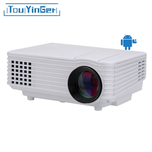 Original EC77 BT905 LED Projector Full HD multimedia Mini Portable Home Theater ATV beamer video portable LCD Digital projector(China)