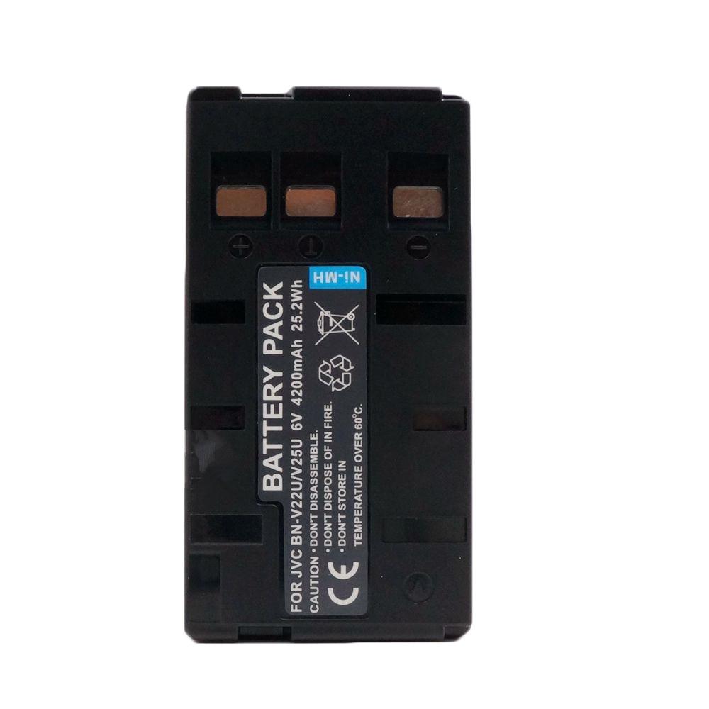 6.0V Batterie type JVC BN-V22 Ni//MH 2100mAh