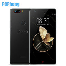 "New ZTE Nubia Z17 Borderless 6GB RAM 64GB ROM Cell Phone Android 7.1 Snapdragon 835 Octa Core 5.5"" Dual SIM Camera 23.0MP"