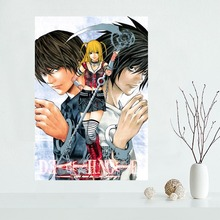 Nice DEATH NOTE Poster Custom Canvas Poster Art Home Decoration Cloth Fabric Wall Poster Print Silk Fabric(China)