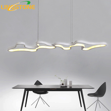 Led Chandelier Lighting Lustre Modern Lamp Aluminium Hanging Light Living Room Bedroom Kitchen Bar Restaurant Ceiling Chandelier(China)