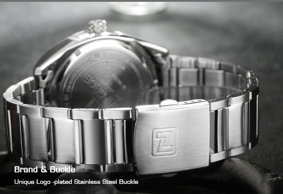 2017 NAVIFORCE Nouveau Top Marque Hommes de Montres Hommes En Acier Plein Imperméable Casual Quartz Date Horloge Mâle montre-Bracelet relogio masculino 8