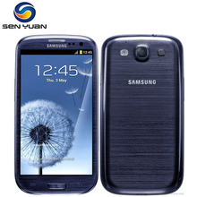 Unlocked Original Samsung Galaxy S3 i9300 Cell phone Quad Core 8MP Camera 4.8'' GPS Wifi 3G Phone  Free shipping
