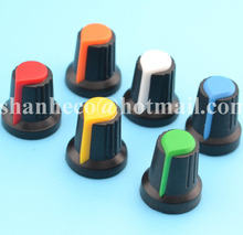60PCS 15*17 mm Volume Control Potentiometer Knob For Potentiometer rotary knob(China)