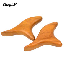 2pcs Wooden Triangle Foot Body Massage Tool Acupressure Stick Health Care Gifts Reflexology Hand Massage Massager Press Point