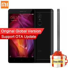 "Global Version Xiaomi Redmi Note 4 Qualcomm 4GB 64GB Mobile Phone Snapdragon 625 Octa Core 5.5"" FHD 13.0MP Fingerprint MIUI 8.1"
