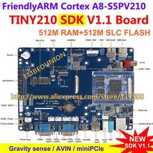 FriendlyARM Cortex A8 , S5PV210 TINY210 SDK Development Board , 512M RAM 512M SLC Flash  Android 4.0