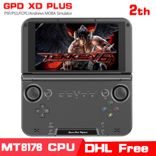 GPD XD PLUS 5 Inch Android7.0 Gamepad Tablet PC4GB/32GB MTK8176 SIX Core 2.1GHz Handled Game Console H-IPS 1280*768 Game Player(China)