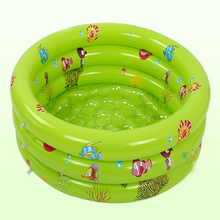 Ocean Inflatable Pool Baby Swimming Pool Portable Outdoor Children Basin Bath Baby 80 * 30cm Dimensions(China)