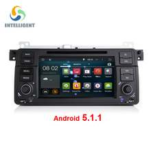 Android 5.1 Quad core HD 1024*600 screen 2 DIN Car DVD GPS Radio stereo For BMW E46 M3 android E39 X5 wifi 3G GPS USB SWC AUDIO