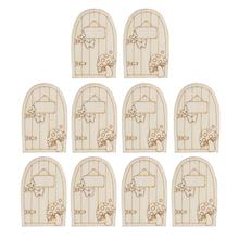 1Christmas Ornaments Wooden Hanging Wizard House Xmas Decorations - Shenzhen ZHCX Company store