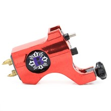 Tattoo Rotary Machine Red  Bishop Rotary Tattoo Machine Cheap Tattoo Machine Guns With RCA Connection  for Tattoo  Free Shipping