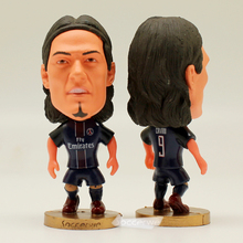 "Soccer PSG FC 9# CAVANI 2.5"" Action Toy Doll Figure(China)"