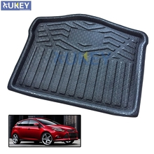 Fit For Ford Focus Mk3 Hatchback Hatch Rear Trunk Boot Mat Liner Cargo Tray Floor Carpet Protector 2012 2013 2014 2015 2016 2017(China)