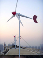 China ME6.0-5000W-OL 5kw mill power wind generator vertical with on grid inverter For home use