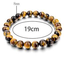 Men Bracelet 8MM Tiger Eye Shamballa Bracelet Handmade Friendship Bracelets Mens Charm Bracelet Jewelry