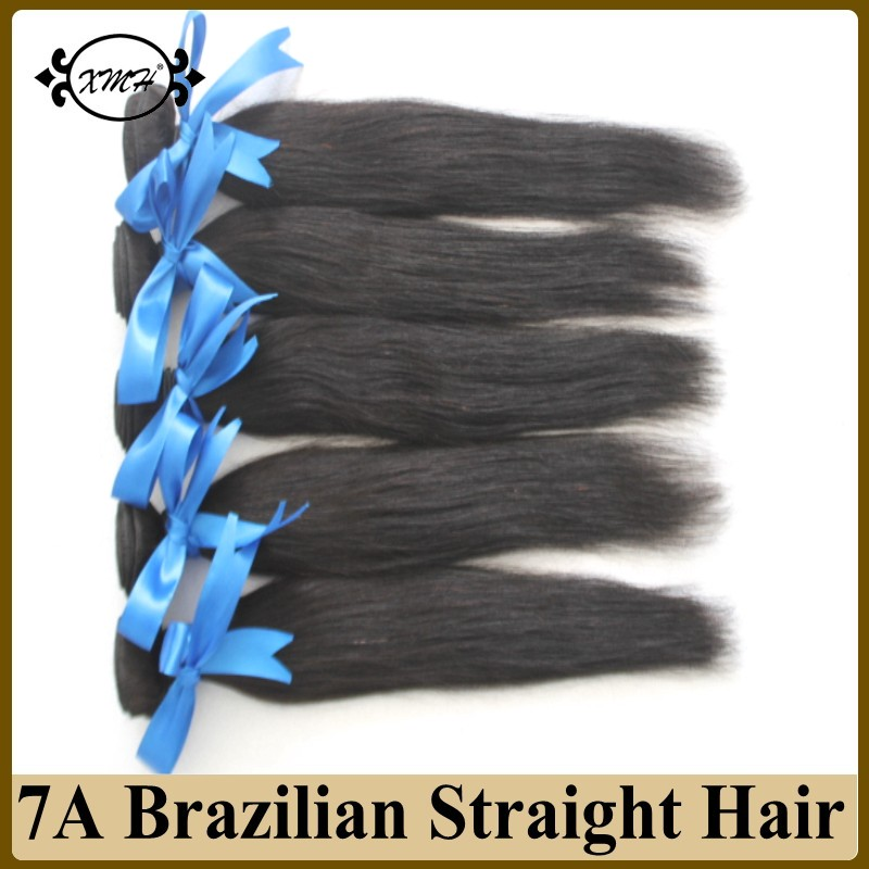 Wholesale Brazilian Virgin Hair Straight 100g Bundles 5pcs Cheap Human Hair Sew In Weave 7A Full Cuticle Virgin Brazilian Hair<br><br>Aliexpress