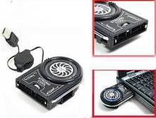 Wholesale New Dropship New Mini Vacuum USB Case Cooler Cooling Fan For Notebook Laptop