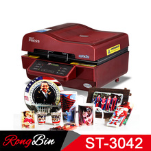 ST-3042 3D Sublimation Printer 3D Vacuum Sublimation Heat Press Transfer Machine Printing  for Phone Cases Mugs Plates Glasses