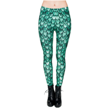 New 3D Printing Dragon Green Winter Women Leggings Causal Soft jeggings Tayt Fitness Legging Sexy Leggins Fashion Legins girls(China)