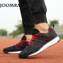 Joomra Top Quality Flywire Light Running Shoes Men Sports Sneakers breathable mesh outdoor athletic shoes Adults Trainer
