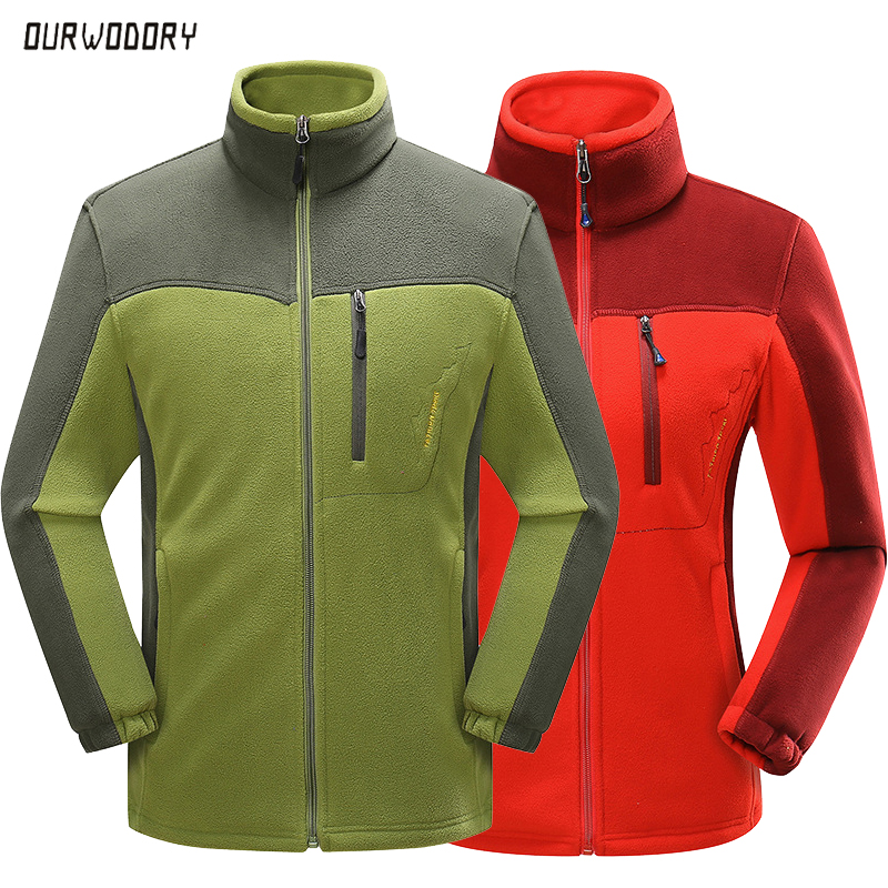 New Men's winter fleece jacket men women outdoor hiking Thermal parkas coat Velvet Windbreaker male Softshell jackets Windproof(China)