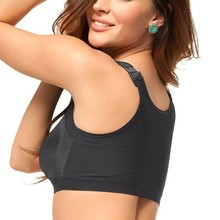 Women Adjustable Stretch Solid Bra Fitness Tank Tops Underwear New Sale(China)