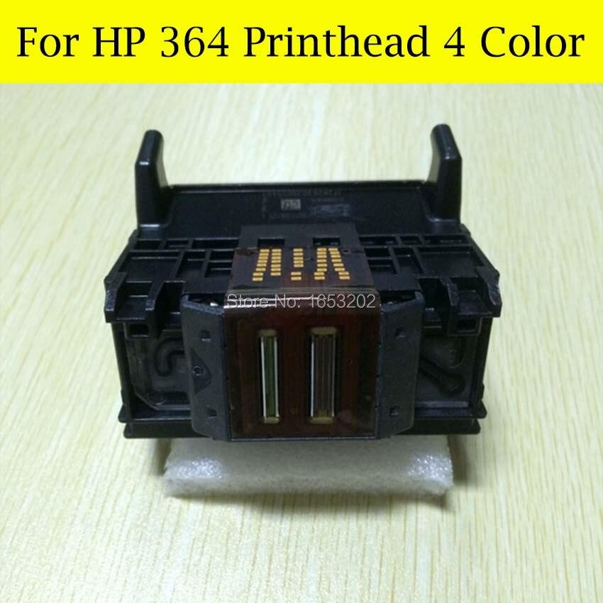 4 Color 364 Printhead For HP Photosmart B110a B110c B110e B209a B210a B210c B210b For HP 364 Printer Head<br>