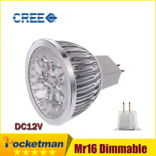 high power LED Spotlight Lamp Light MR16 12V 6w 9w 12w led Dimmable cob spotlight lamp bulb warm cool white zk40(China)