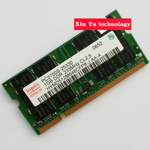Lifetime warranty For hynix DDR 1GB 333MHz PC-2700 Original authentic 1G notebook memory Laptop RAM 200PIN SODIMM