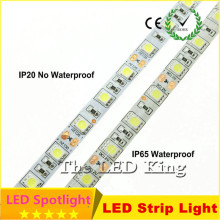 New LED Strip 5050 IP20 DC12V 300 Leds 5m/lot Flexible LED Light RGB 5050 LED Strip IP65 Waterproof Can Use Underwater fish tank