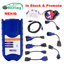 A+ Quality NEXIQ USB Link 125032 + Software With All Installers Heavy Duty Diesel Truck Diagnostic Scanner Tool DHL Free Ship(China)