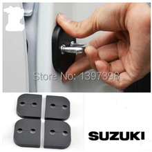 For Suzuki SX4 Jimmy Splash Swift Alto door lock cover door cover lock catch protect car interior accessories 4pcs