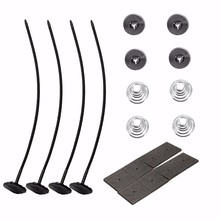 Universal Radiator Cooling Fan Fitting Fixing Mounting Kit Clips Ties Support