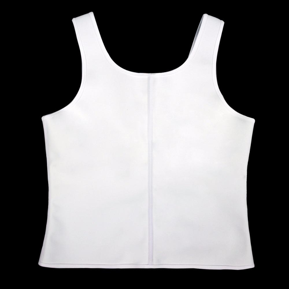Latex Waist Cincher Men Rubber Bone Hot Fat Burning And Control Slimming Fit Vest Body Shaper Zipper Close Underwear Bustier 6XL (8)
