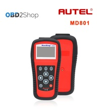 Autel MaxiDas MD801 code reader 4 in 1 ( JP701+EU702+US703+FR704 ) engine transmission airbag and ABS auto diagnostic tool(China)