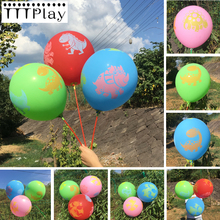 Buy 50pcs/lot 12inch 2.8g Printed Dinosaur Latex Balloon Transparent Balloon Wedding Decoration Birthday Party Supplies Balloon Toys for $4.46 in AliExpress store