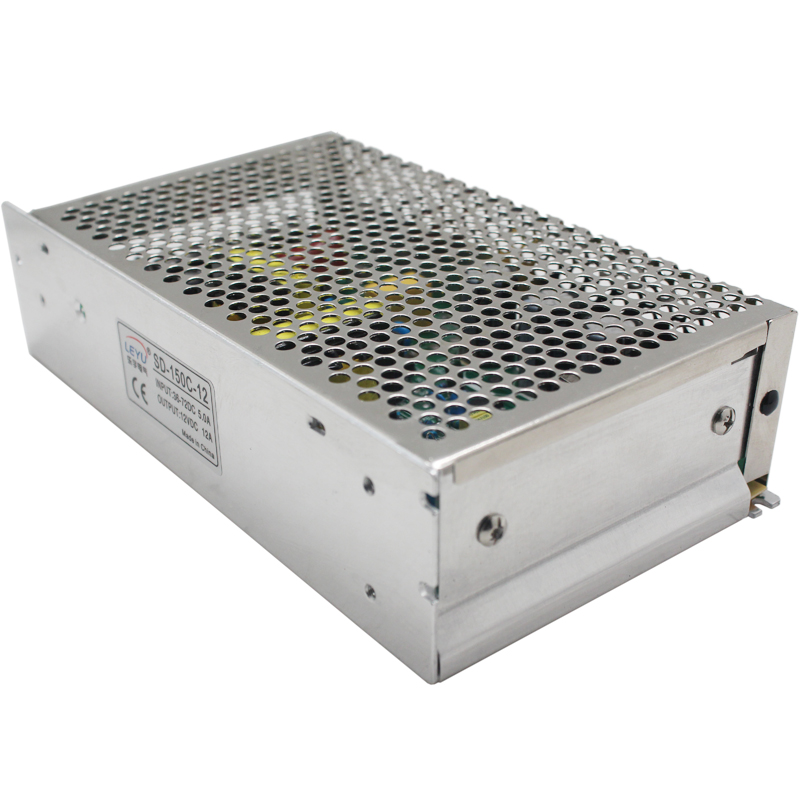 DC DC converter CE RoHS approved SD-150B-12 single output 24v to 12v power supply 2:1 wide input range<br>