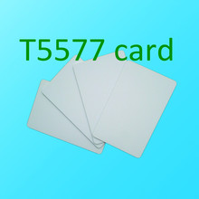 Buy 200PCS RFID 125KHZ blank White Rewritable chip ATMEL T5577 Hotel key card for $110.89 in AliExpress store