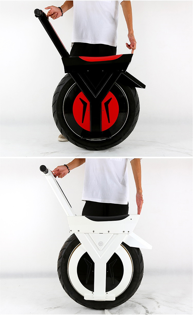 New Electric Unicycle Scooter 500W motorcycle hoverboard one wheel scooter skateboard monowheel Electric Bicycle big wheel (15)