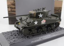 1/43 American Sherman M4A3 medium tank Finished alloy model Static military model